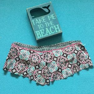 🐳🌺Cute Ruffled Strapless Bikini Top 🏝🌸
